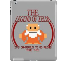Zelda - It's Dangerous To Go Alone iPad Case/Skin