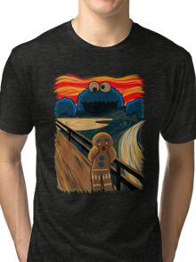 The Cookie Muncher  Tri-blend T-Shirt