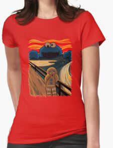 The Cookie Muncher  Womens Fitted T-Shirt