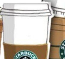 Starbucks Cartoon Pictures Sticker