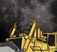 Space Dozer Sticker