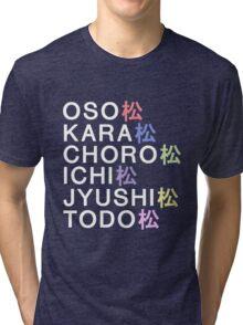 Osomatsu-san& Tri-blend T-Shirt