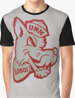 Retro New Mexico Lobos  Graphic T-Shirt