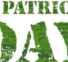 KRW St Patrick's Day Stencil Design Sticker