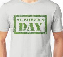 KRW St Patrick's Day Stencil Design Unisex T-Shirt
