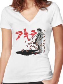 Tetsuo Shima Women's Fitted V-Neck T-Shirt