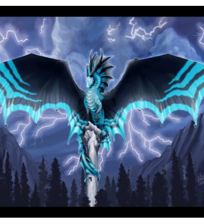 Lightning Dragon - Dragon Totem Sticker