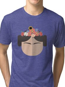 Princess Leia Kahlo Tri-blend T-Shirt