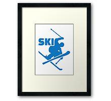 Ski Framed Print