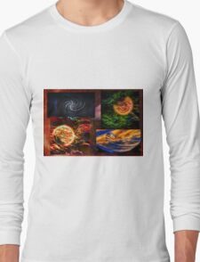 Space Art Long Sleeve T-Shirt