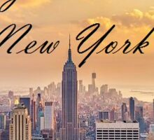 Taylor Swift NYC Sticker