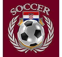 Croatia Soccer 2016 Fan Gear Photographic Print