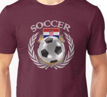 Croatia Soccer 2016 Fan Gear Unisex T-Shirt