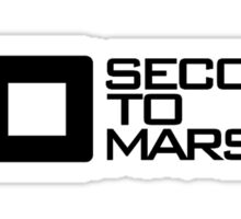 30 seconds to Mars Sticker