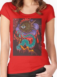Eye of the Storm Women's Fitted Scoop T-Shirt