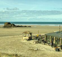 The pub on the beach  Sticker