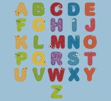Animal alphabets Kids Tee