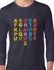 Animal alphabets Long Sleeve T-Shirt