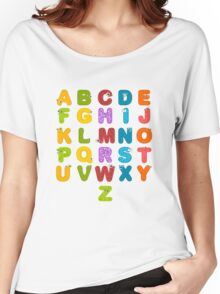 Animal alphabets Women's Relaxed Fit T-Shirt
