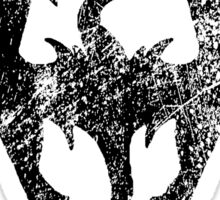 Skyrim Distressed Logo Sticker