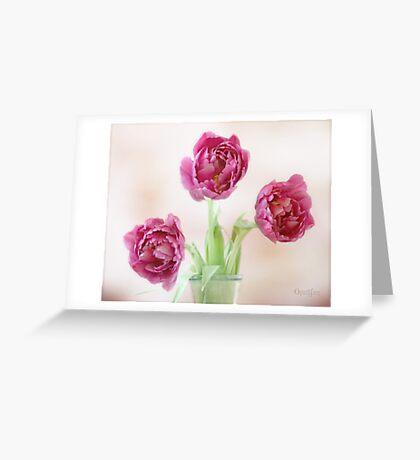 Pink Ladies Greeting Card