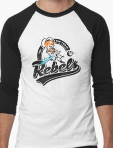Rebels Men's Baseball ¾ T-Shirt