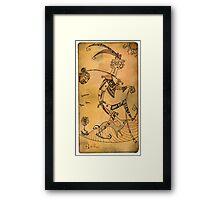 The Fool - Major Arcana Framed Print