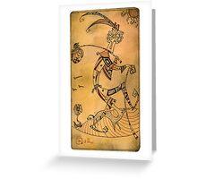 The Fool - Major Arcana Greeting Card