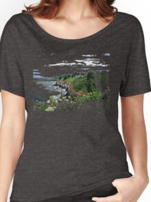 Cape Disapointment - Lewis and Clark Interpretive Center Women's Relaxed Fit T-Shirt