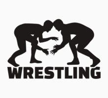Wrestling Baby Tee