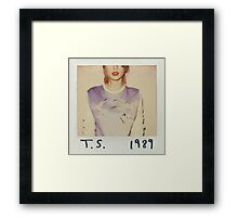Taylor Swift 1989 Graphic Framed Print