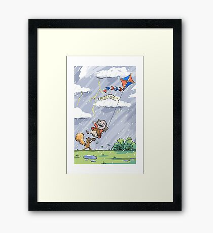 Franklin - Lil Scientists Framed Print