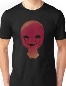 Smirk from the dark room Unisex T-Shirt