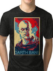 Darth Bane- Obama Style Tri-blend T-Shirt