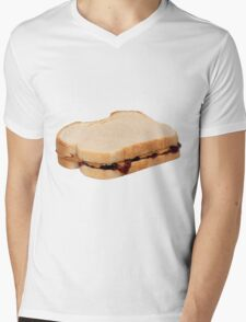 Peanut Butter n Jelly! Mens V-Neck T-Shirt