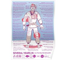 BJJ - Several Years In - Blue Poster