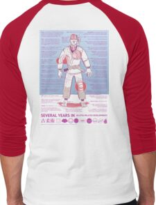 BJJ - Several Years In - Blue Men's Baseball ¾ T-Shirt