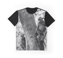"""""""Hm these Humans...everyday"""" (B&W) Graphic T-Shirt"""