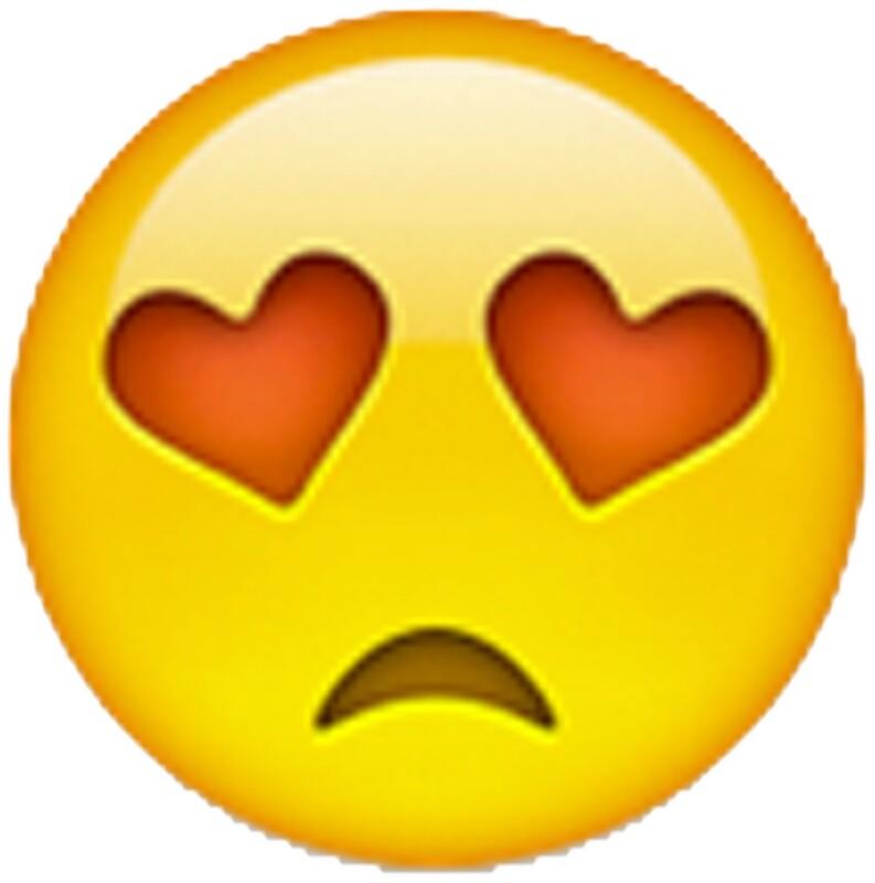 Quot Sad Heart Emoji Quot Stickers By Ladyboner69 Redbubble