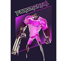 FRAGMENTAL PINK CHARACTER BY RUFFIAN GAMES Photographic Print