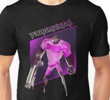 FRAGMENTAL PINK CHARACTER BY RUFFIAN GAMES Unisex T-Shirt