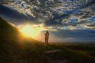 Tor Sunset by Nigel Bangert