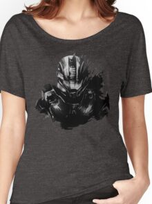 Master Chief Fragmented Women's Relaxed Fit T-Shirt