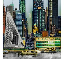 Fifty-Seventh Street Fantasy Photographic Print