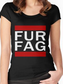 Fur Fag Women's Fitted Scoop T-Shirt