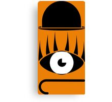 Clockwork orange symbols Canvas Print