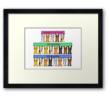 Congratulations on passing your edTPA Framed Print