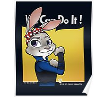 First Officer Bunny Poster