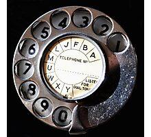 Telephone Nostalgia Photographic Print