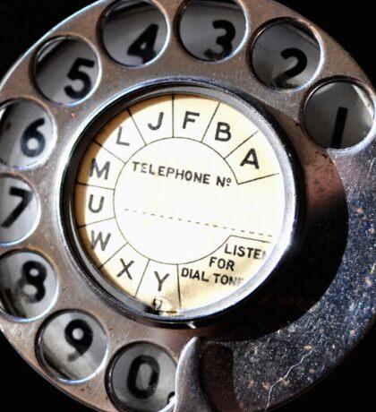 Telephone Nostalgia Sticker